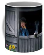The Old Bell Cow Coffee Mug