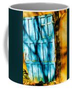 The Old Blue Door Coffee Mug