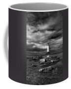 The Old Lighthouse  Coffee Mug by Adrian Evans