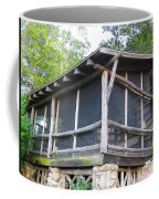 The Old Part Of The Cabin Coffee Mug