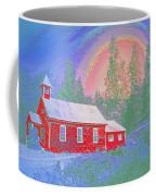 The Old Schoolhouse Library Coffee Mug