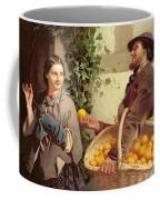 The Orange Seller  Coffee Mug