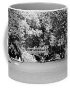 The Overhang In Black And White Coffee Mug