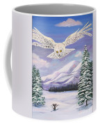 The Owl And The Rat Coffee Mug by Phyllis Kaltenbach