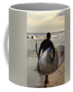 The Paddleboarder Coffee Mug