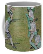 The Pads Digital Art Coffee Mug