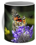 The Painted Lady Butterfly  Coffee Mug