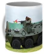 The Pandur 6x6 Family Of Wheeled Coffee Mug by Luc De Jaeger