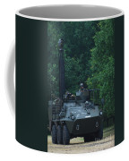 The Pandur Recce Vehicle In Use Coffee Mug by Luc De Jaeger