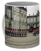 The Parading Of The Guards Coffee Mug