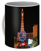 The Paris At Night Coffee Mug