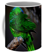 The Parrot Fractal Coffee Mug