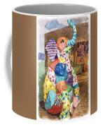 The Patchwork Elephant Art Coffee Mug