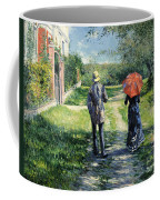 The Path Uphil Coffee Mug