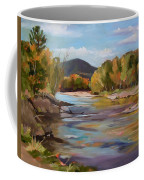 The Pemi In Autumn One Coffee Mug