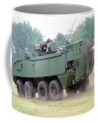 The Piranha IIic Of The Belgian Army Coffee Mug by Luc De Jaeger