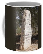 The Plaque Said To Commemorate Coffee Mug by Taylor S. Kennedy