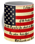 The Pledge Of Allegiance Coffee Mug