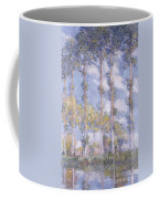 The Poplars Coffee Mug by Claude Monet