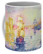 The Port Of Marseilles Coffee Mug