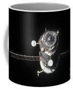 The Progress 46 Spacecraft Coffee Mug