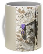 The Purple Heart Award Hangs Coffee Mug by Stocktrek Images
