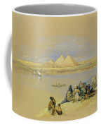 The Pyramids At Giza Near Cairo Coffee Mug