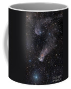 The Question Mark Nebula In Orion Coffee Mug