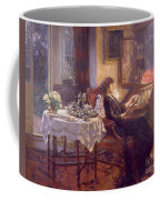 The Quiet Hour Coffee Mug by Albert Chevallier Tayler