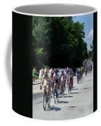 The Race Is On Coffee Mug