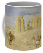 The Ramesseum At Thebes Coffee Mug