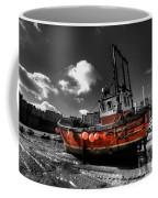 The Red Fishing Boat Coffee Mug