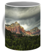 The Red Rocks Of Sedona  Coffee Mug