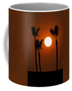 The Red Sunset  Coffee Mug