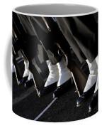 The Rifle Detail Aboard Uss Carl Vinson Coffee Mug