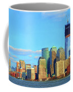 The Rising Freedom Tower Coffee Mug