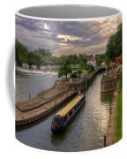 The River Thames At Goring Coffee Mug