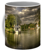 The River Thames At Streatley Coffee Mug