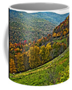 The Road To Glady Wv Painted Coffee Mug