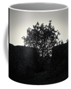 The Ruins Of The Castle Of Ali Pasha In Bw Coffee Mug