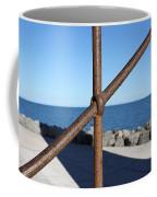 The Rust And The Sea Coffee Mug