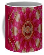 The Sacred Orchid Mandala Coffee Mug