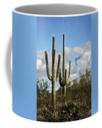 The Saguaros  Coffee Mug