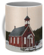 The School House Painterly Coffee Mug