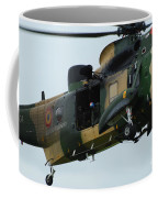 The Sea King Helicopter In Use Coffee Mug by Luc De Jaeger