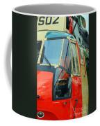 The Sea King Helicopter Used Coffee Mug