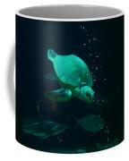 The Sea Turtle Dives Coffee Mug