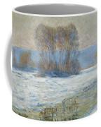 The Seine At Bennecourt Coffee Mug