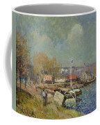 The Seine At Port-marly Coffee Mug by Alfred Sisley