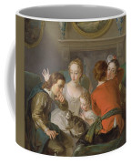 The Sense Of Touch Coffee Mug